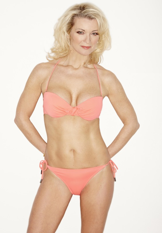 Gillian Taylforth photo shoot for Closer magazine