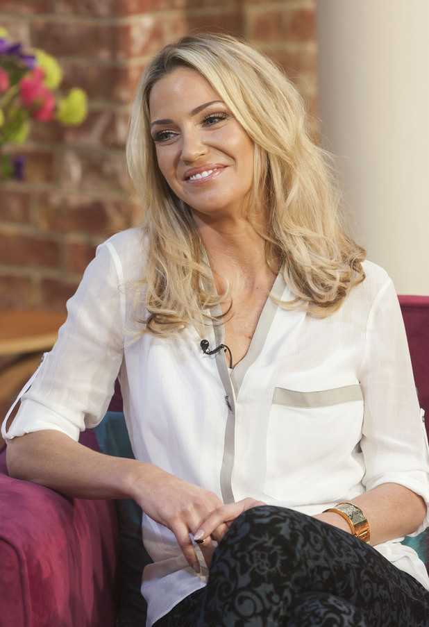 Sarah Harding, 'This Morning' TV Programme, London