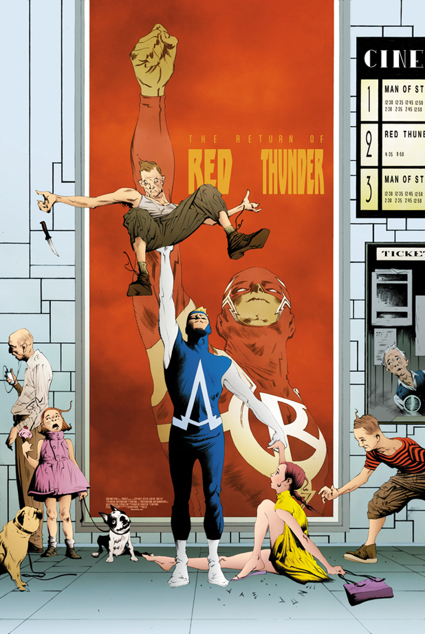 'Animal Man' #20 artwork