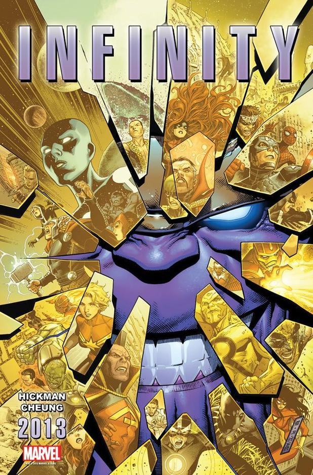 Marvel Comics teases &#39;Infinity&#39; cosmic crossover