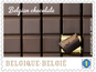Belgian chocolate stamps on sale