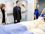 8068: As Kylie is rushed to hospital Gail realises the baby could be Nick's. He begs her not to tell David