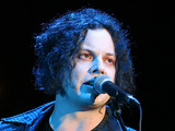 Jack White in concert at the Shoreline Amphitheatre, California - October 2012