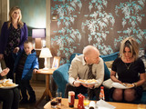 The Branning's get an unexpected guest.