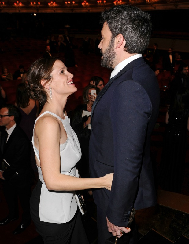 Ben Affleck and Jennifer Garner at the 2013 BAFTAs