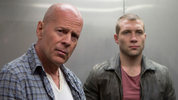 Action icon Bruce Willis and Aussie newcomer Jai Courtney chat to Digital Spy about their on screen partnership in  'A Good Day To Die Hard'