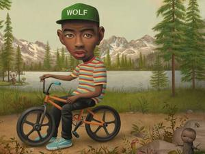 Tyler, The Creator 'Wolf' artwork