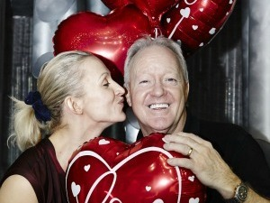 'Dancing on Ice' Valentine Special, TV Programme. - 14 Feb 2013 Olga Sharutenko and Keith Chegwin,