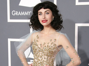 55th Annual GRAMMY Awards held at Staples Center - Arrivals Featuring: Kimbra Where: Los Angeles, California, United States When: 10 Feb 2013