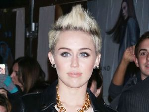 Miley Cyrus, moschino, new york fashion week 2013