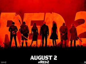 &#39;RED 2&#39; poster