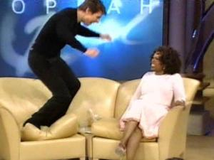 Tom Cruise talks to Oprah Winfrey about falling in love with Katie Holmes