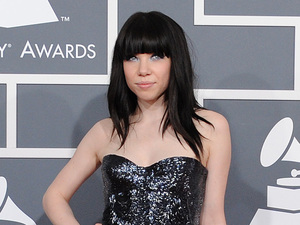 Grammy Awards 2013 red carpet: Carly Rae Jepsen