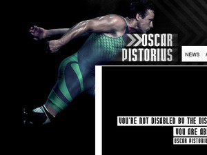 Oscar Pistorius website
