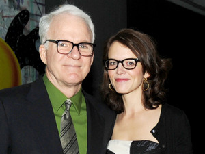 Steve Martin with wife Anne Stringfield
