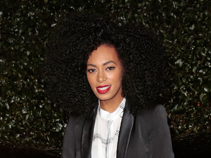 Topshop Topman LA Opening Party held at Cecconi's - Arrivals Featuring: Solange Knowles Where: West Hollywood, California, United States