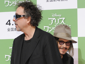 Johnny Depp, Tim Burton, Alice in Wonderland, Tokyo
