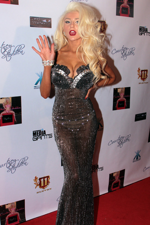 "Courtney Stodden celebrates the premiere of her new music video ""REALITY"" at Eleven NightClub Featuring: Courtney Stodden Where: Los Angeles, California, USA"
