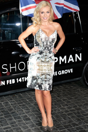 Topshop Topman LA Opening Party held at Cecconi's Featuring: Katherine Jenkins Where: West Hollywood, California, United States When: 13 Feb 2013