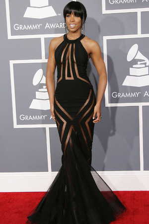 55th Annual GRAMMY Awards held at Staples Center - Arrivals Featuring: Kelly Rowland Where: Los Angeles, California, United States When: 10 Feb 2013
