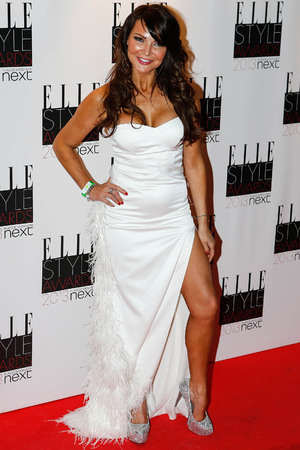 Elle Style Awards held at the Savoy - Arrivals Featuring: Lizzie Cundy Where: London, United Kingdom