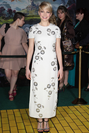 """OZ The Great And Powerful"" - Los Angeles Premiere - Arrivals Featuring: Michelle Williams Where: Hollywood, California, USA"
