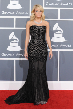 Grammy Awards 2013 red carpet: Carrie Underwood