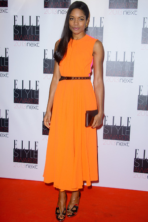 Elle Style Awards held at the Savoy - Arrivals. Featuring: Naomie Harris Where: London, United Kingdom When: 11 Feb 2013