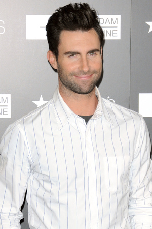 Adam Levine launches his new fragrance at Macy's Herald Square.
