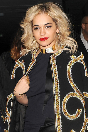 Rita Ora out and about in London.