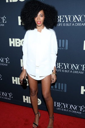 'Beyonce: Life Is But A Dream' New York Premiere at Ziegfeld Theater Featuring: Solange Knowles Where: New York City, New York , United States