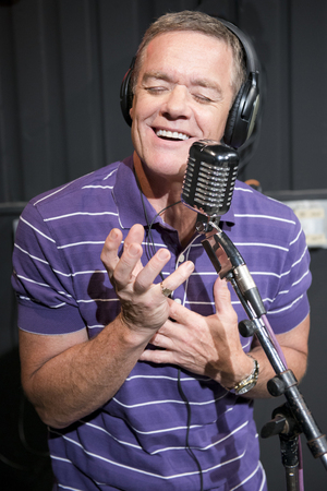 Stefan Dennis promoting the Neighbours Remixed competition