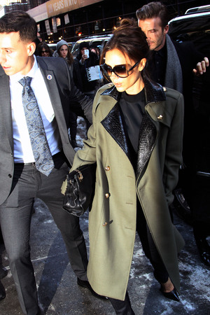 Victoria Beckham, Balthazar Restaurant
