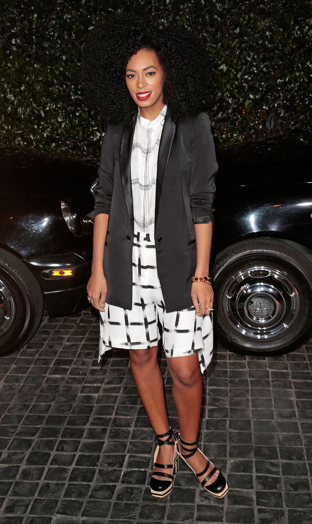 Solange Knowles, Topshop Topman LA Opening Party