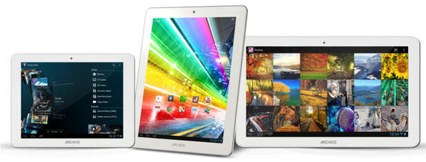 Archos unveils Platinum line of Android tablets