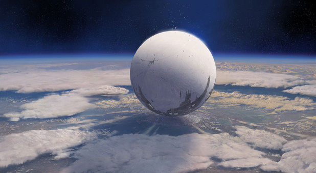Concept artwork from Destiny.