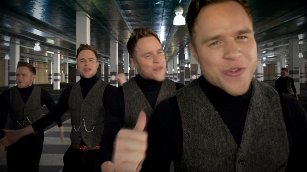 Olly Murs in 'Army Of Two' music video