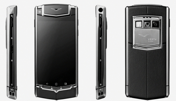 The Vertu TI luxury Android smartphone
