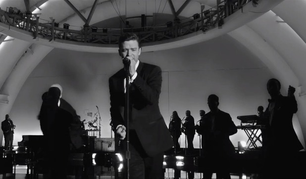 Justin Timberlake 'Suit & Tie' video still