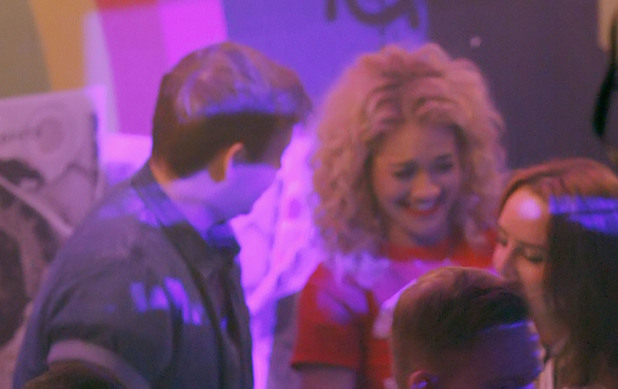 Rita Ora and James Arthur at Rita Ora's afterparty at Gatecrasher nightclub, Birmingham