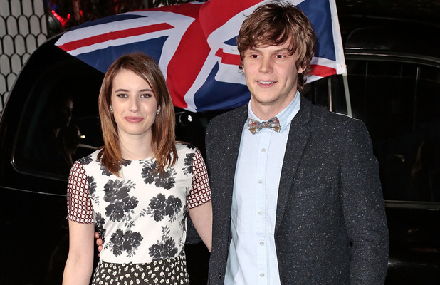 Topshop Topman LA Opening Party held at Cecconi's - Arrivals Featuring: Emma Roberts,Evan Peters