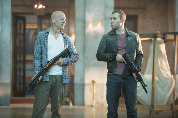 A Good Day to Die Hard (2013), Jai Courtney, Bruce Willis