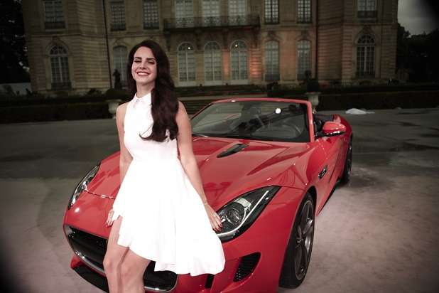 Lana Del Rey teams with Jaguar F-TYPE.