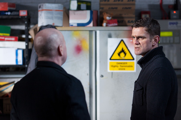 Jack confronts Phil about the deal with Sharon