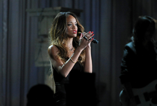 Grammy Awards 2013: Rihanna