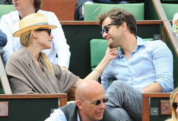 Diane Kruger and Joshua Jackson at French Open Tennis Tournament in Paris - 31 May 2012