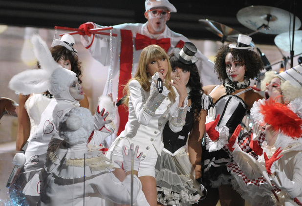 Grammy Awards 2013: Taylor Swift