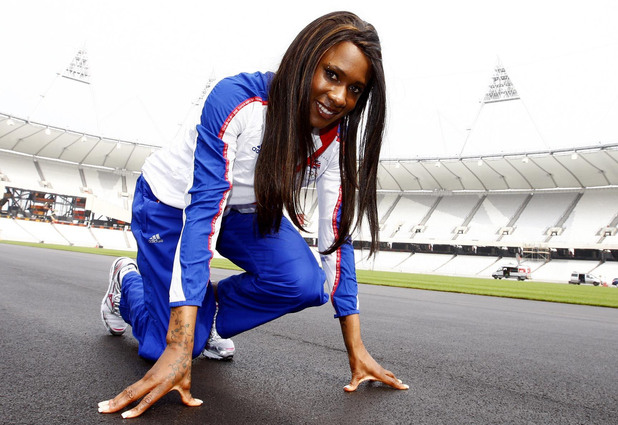 Team GB's 400m Hurdler Tasha Danvers at the Olympic Stadium