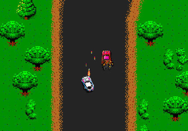 &#39;Spy Hunter&#39; arcade screenshot