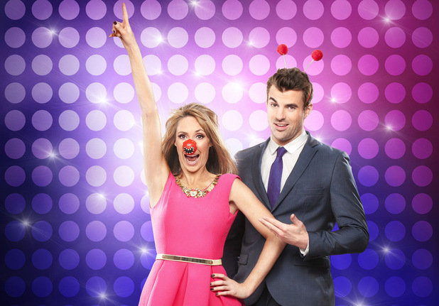 Alex Jones and Steve Jones host Let's Dance For Comic Relief